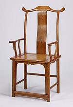Mid 20th c. Chinese hat chair