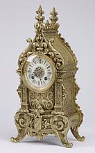 Late 19th c. Gothic Revival style clock