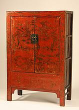Early 20th c. Chinese double door cabinet