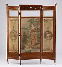 Italian handpainted double sided room divider