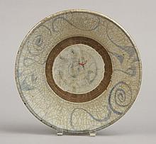 Chinese Ming Dynasty ceramic plate