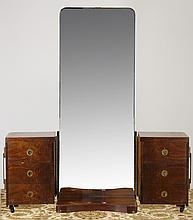 Early 20th c. French Art Deco vanity