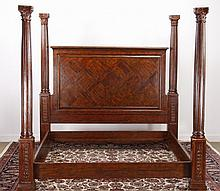Theodore Alexander king four poster bed