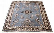 Oversized handknotted wool rug, 15' 2
