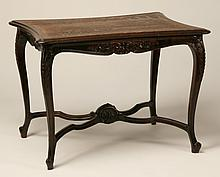 19th c. French Provincial oak table