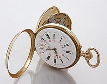 19th c. perpetual movement pocket watch