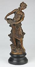 Early 20th c. bronze sculpture, after Moreau