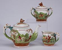 3-Piece Wedgwood tea set, marked