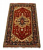 20th c. Indo-Persian wool Serapi runner, 73