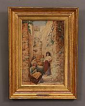 19th c. Italian watercolor, unsigned