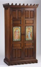 Handcrafted Spanish style cabinet