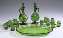 14-Piece cordial set, A.A. Egermann