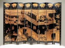 Chinese coromandel screen, 144