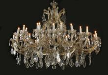 Early 20th c. crystal chandelier, 35