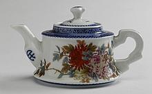Chinese Republic period porcelain teapot