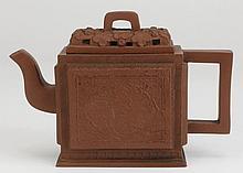 Early 20th c. Chinese Yixing stoneware teapot