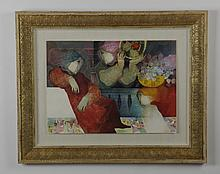 Mixed media, limited edition, artist signed