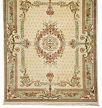 Hand woven Indo Persian rug