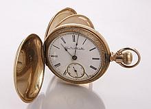 19th c. Elgin gold pocket watch