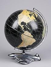 Circa 1947 globe on stand