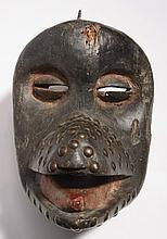 Baule monkey mask, Ivory Coast