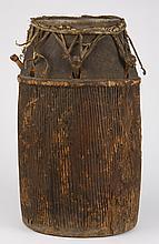 Baule drum, Ivory Coast