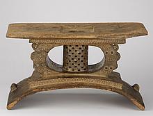 Ashanti carved chief's stool