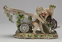 KPM porcelain figurine, 19th c., marked