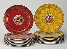 (20) Royal Worcester cabinet plates, 10,25