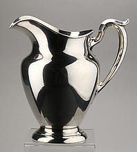 Sterling silver water pitcher by Gorham