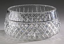 Waterford crystal Lismore bowl, 9