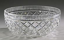 Waterford crystal Lismore bowl, 10