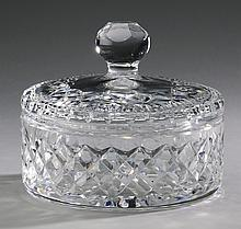 Waterford crystal Lismore candy dish, 6