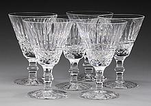 (6) Waterford crystal Tramore wine goblets