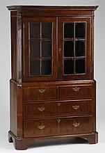 Early 20th c. mahogany bookcase