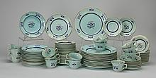 English Ironstone, service for 14, marked