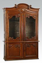 Early 20th c. French Provincial vitrine