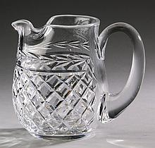 Waterford crystal Lismore pitcher, 6