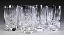 (8) Waterford crystal Lismore tumblers