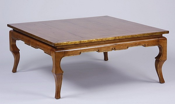 48 Square Oak Coffee Table