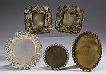 (5) Jay Strongwater jeweled frames, 6.75