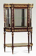 Very fine 19th c. French vitrine, 68
