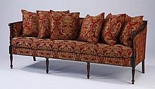 Sheraton style settee, by Kravet