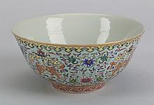 Chinese porcelain bowl, Daoguang mark