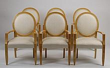 (6) Armchairs by Sally Sirkin Lewis