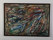Patrick Boudon (French) O/p abstract