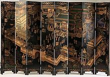 12 ft. wide, Chinese cormomandel screen