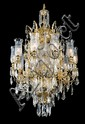 Louis XVI-style chandelier marked Baccarat