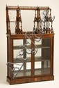 19th c. French rosewood etagere