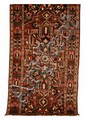 Semi-antique Persian Bakhtiari rug